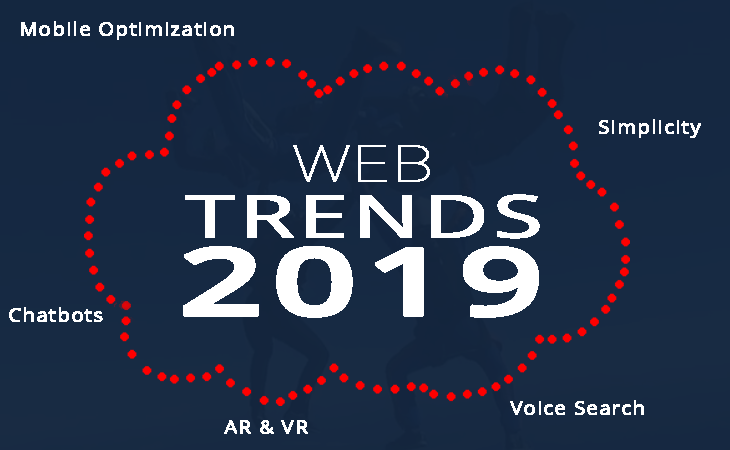 web trends for 2019